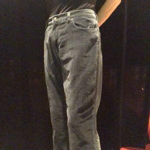 Ralph Lauren Black Velvety Pant, Size 8